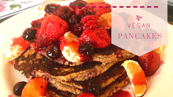 Healthy Vegan Pancakes