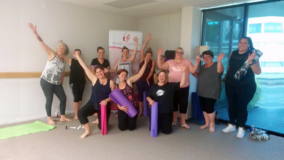 Gentle yoga for people in Hamilton