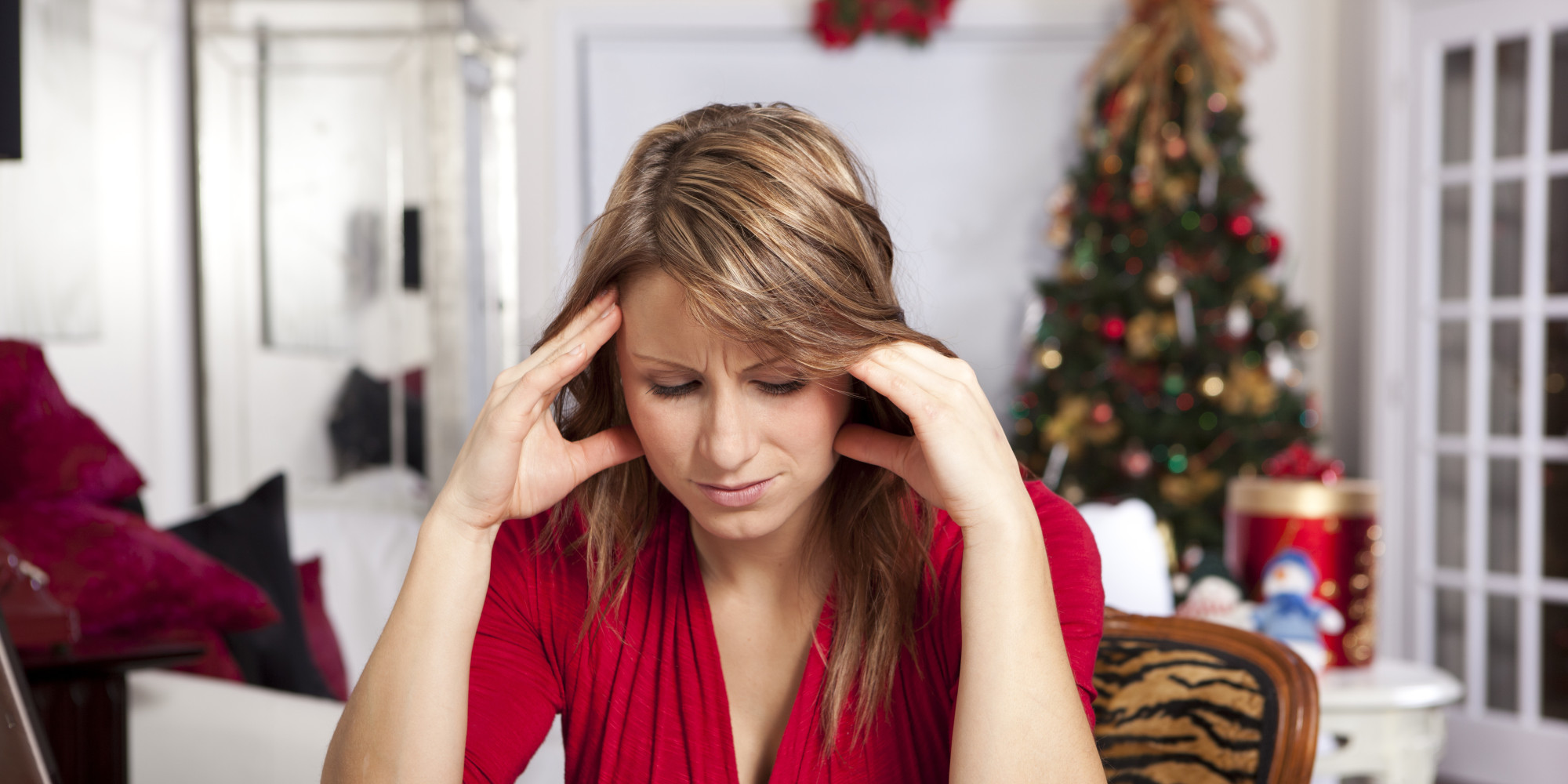 Nutrition|Weight Loss|Eating Psychology o-CHRISTMAS-STRESS-facebook Binge Eating Eating Disorder Healthy Eating