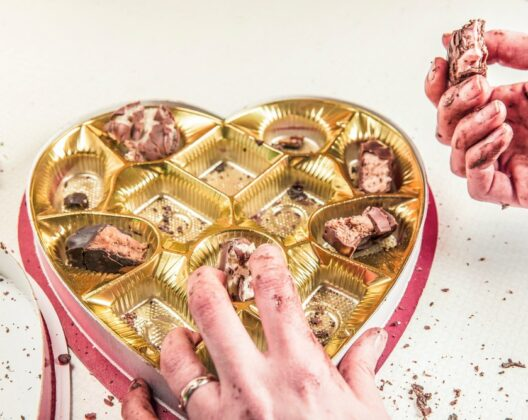 eating chocolate when emotional eating