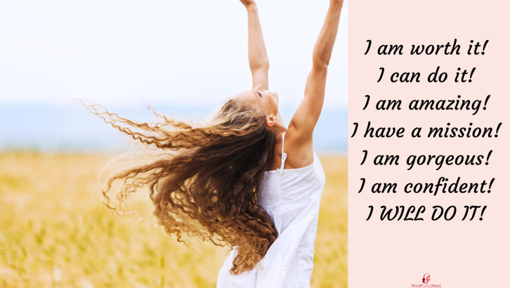 negative self talk transformed into empowerment