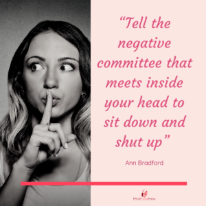 quote about stopping negative self talk
