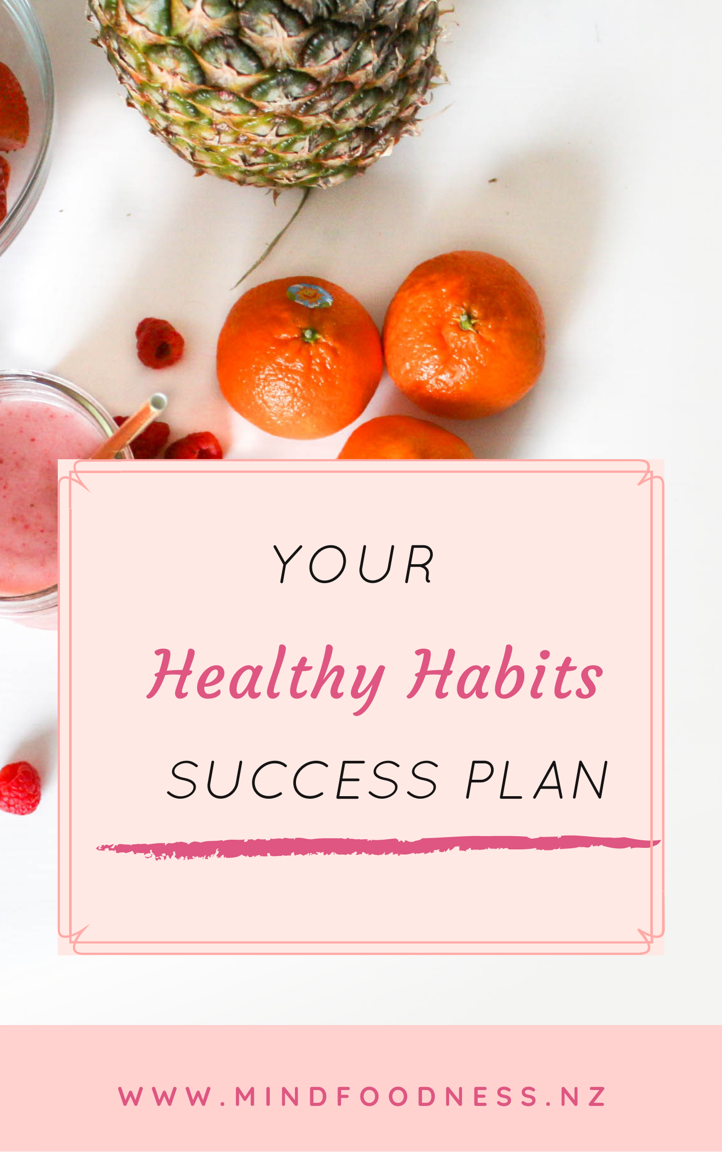 Healthy Habit Success Planner