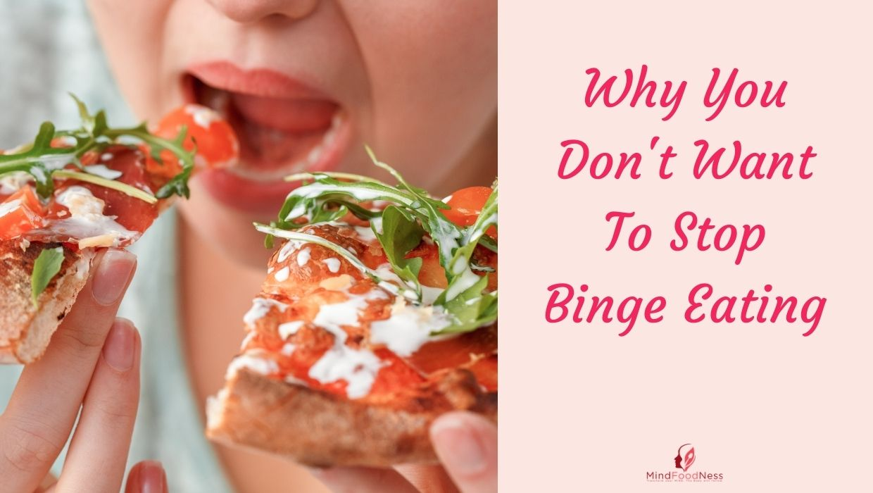 want to stop binge eating